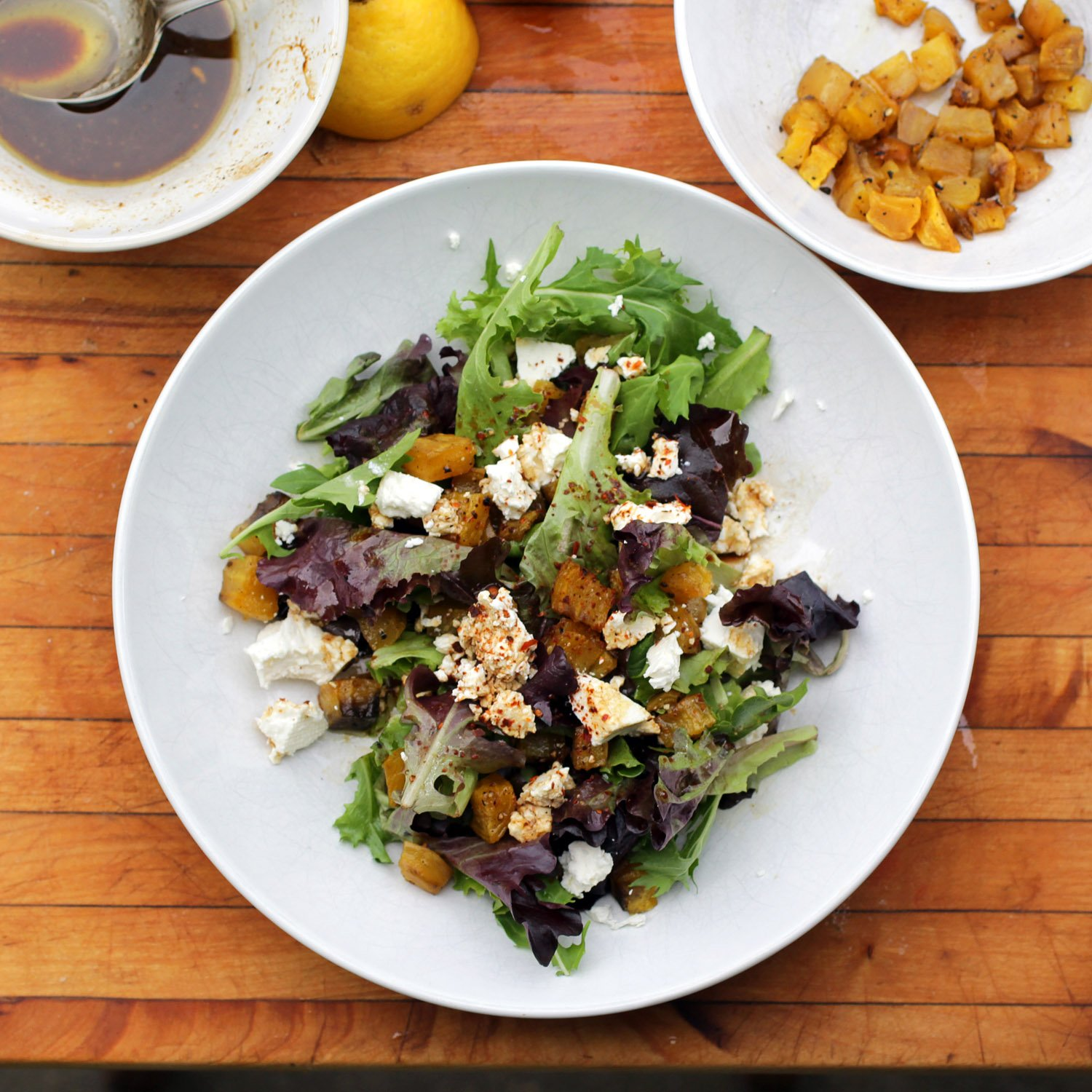 Roasted Golden Beet and Feta Salad — Recipe Fiction