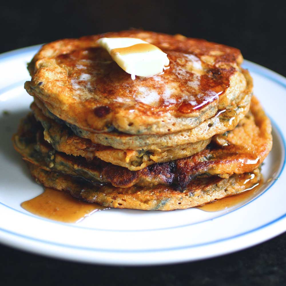 cornmeal pancakes with corn the syrup blackberries cornmeal pancakes ...