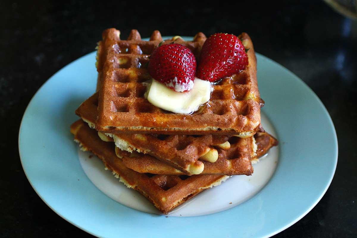 sourdough waffles: a tribute — Recipe Fiction