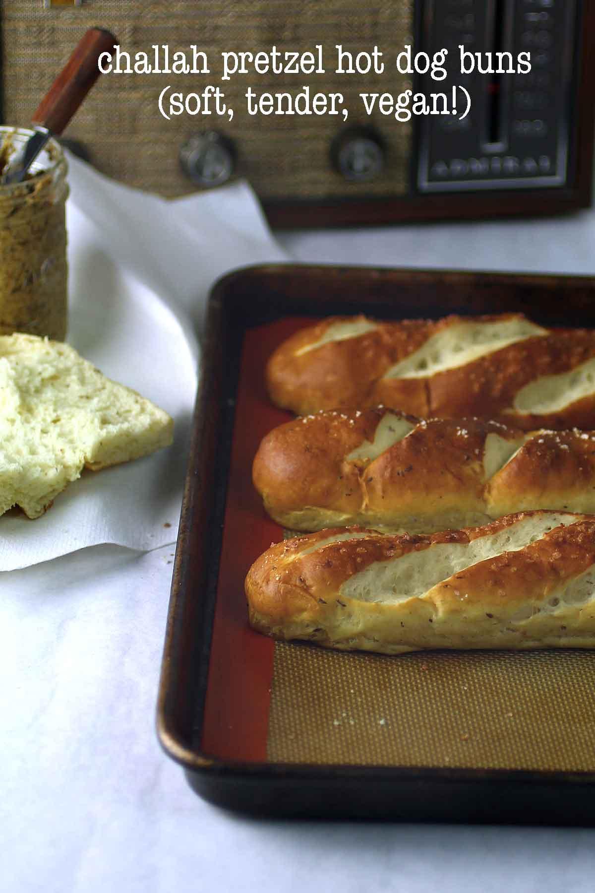 Challah Hot Dog Bun